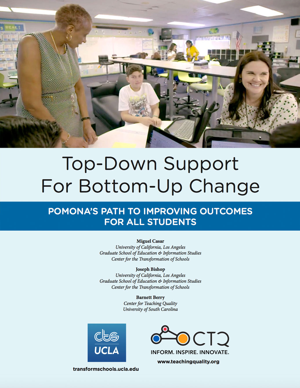Top-Down Support for Bottom-Up Change: Pomonas Path to Improving Outcomes for All Students
